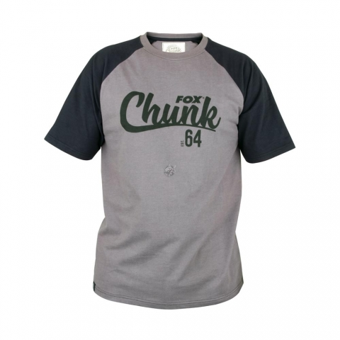 Fox - Chunk T-Shirt Black/Grey # 2XL