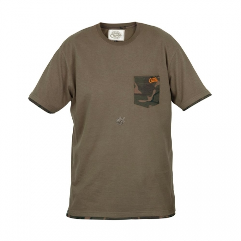 Fox - Chunk T-Shirt Khaki Camo Pocket # S