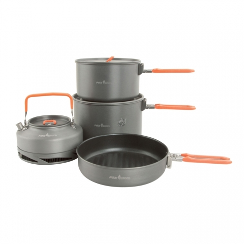 Fox Cookware Large Cookset - 4-teilig