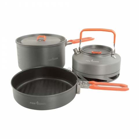 Fox Cookware Medium Cookset - 3-teilig