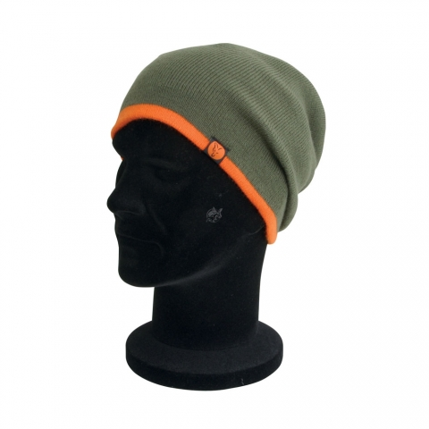 Fox - Heavy Slouch Olive Beanie Hat