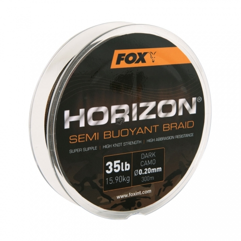 Fox - Horizon Semi Buoyant Camo Braid - 0,30mm 50lb 300m