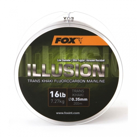 Fox - Illusion Mainline - 19lb/0.39mm - Trans Khaki