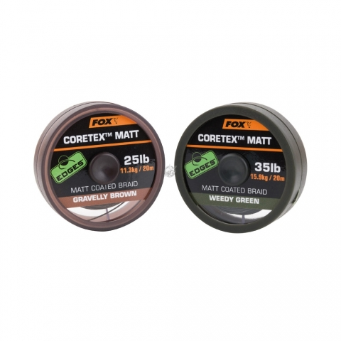 Fox - Matt Coretex Weedy Green 35lb - 20m