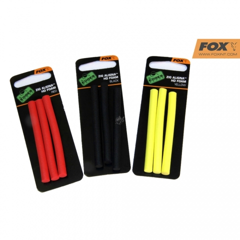 Fox - Zig Aligna Sleeves - HD Foam - Black