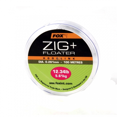 Fox - Zig & Floater Hooklink - 9,86lb. (0,23mm)