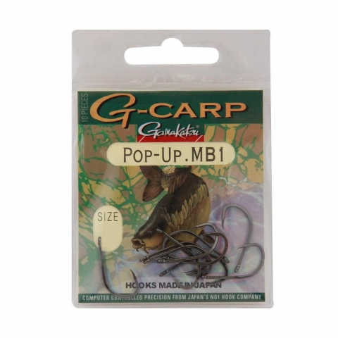 Gamakatsu - G-Carp Pop-Up MB1 - Size 8