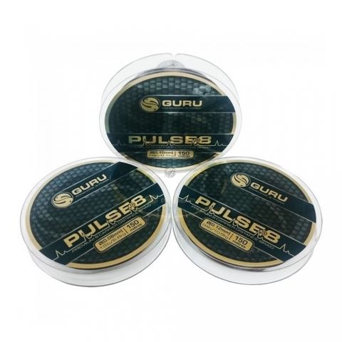 Guru - Guru Pulse-8 Braid - 150m - 0,12mm