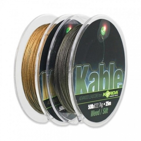 Korda - Kable Leadcore Gravel 7 m