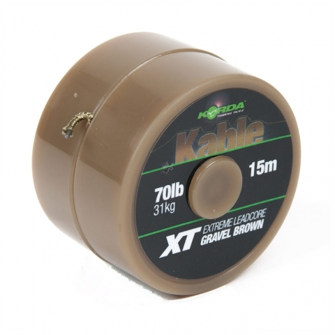 Korda - Kable XT Extreme Leadcore 15m 70lb - Brown