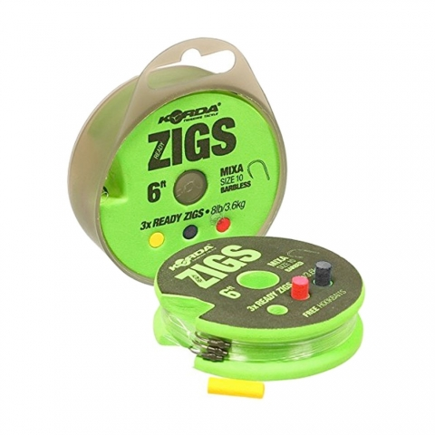 Korda - Ready Zigs Barbless - 8ft