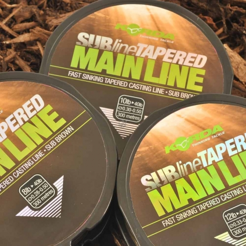 Korda - Subline Tapered Mainline 10lb Brown
