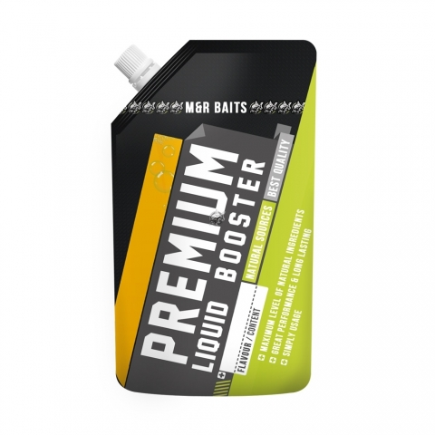 M&R Baits - Premium Liquid Booster - Secret Banana 500ml