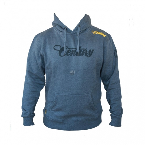 M&R - Century Hoody mit M&R Carp Print - Grau 3Xl