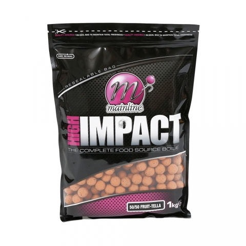 Mainline - High Impact Boilies 50/50 Fruit-Tella 1kg 20mm