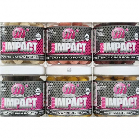 Mainline - High Impact Pop-up - Aromatic Fish 15mm