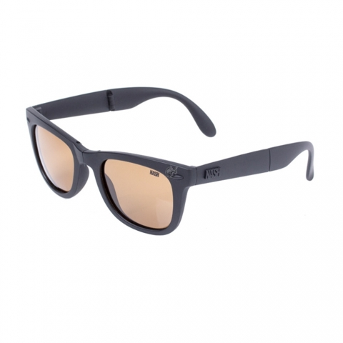 Nash - Micro-Pak Folding Polarised Sunglass - Amber