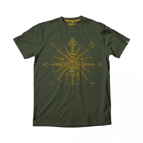Navitas - Direction Tee Green - Size 2XL