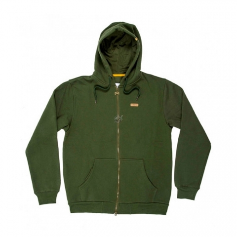 Navitas - Low Key Zip Hoody Green - Size XL