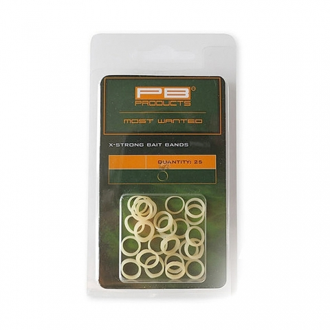 PB Products - Bait Bands X-strong 25pcs