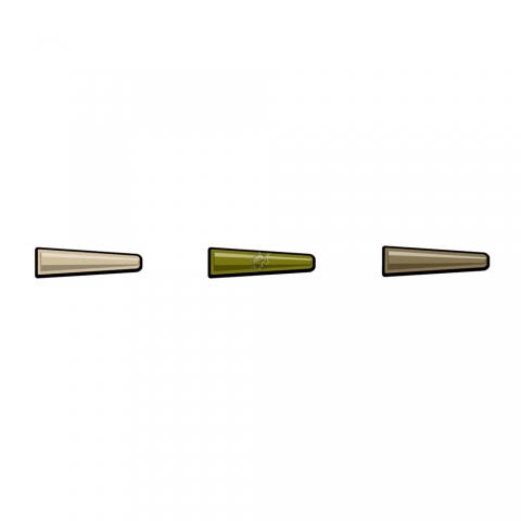 PB Products - Hit & Run Tailrubbers Leadclip - weed