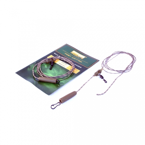 PB Products - Silk Ray Heli-Chod Leader - 90cm - gravel
