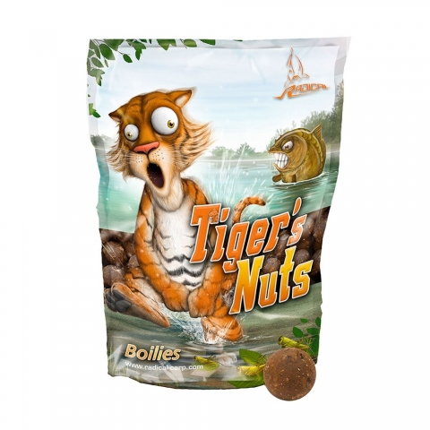 Quantum - Radical Boilie - Tigers Nuts - 20mm 1kg