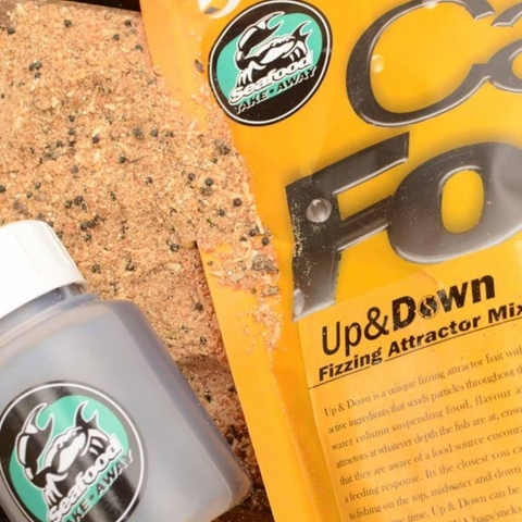 Solar Tackle - Up & Down Mix 1kg - Seafood Takeaway + Booster