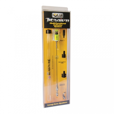 Solar Tackle - iPro Titanium Indicator Long Arm System - White