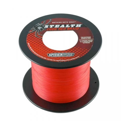 Spiderwire - Stealth Code Red (Bulk)