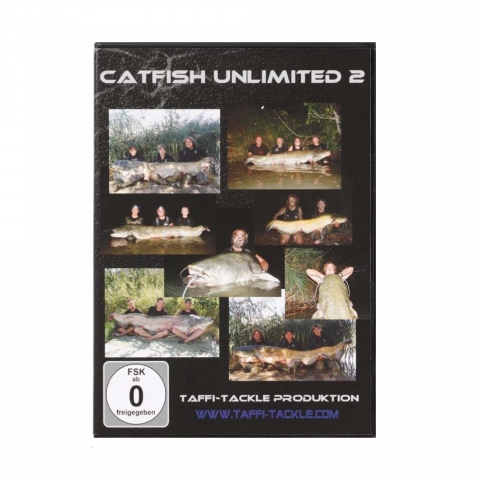 Taffi Tackle - Catfish Unlimited 2 - DVD