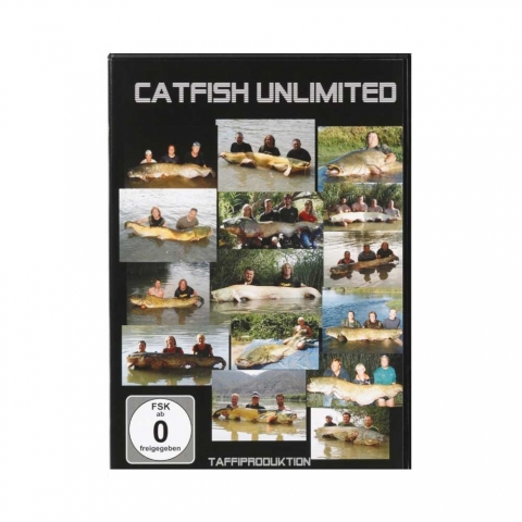 Taffi Tackle - Catfish Unlimited - DVD