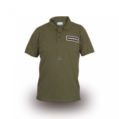 Shimano - Polo Olive - Size S