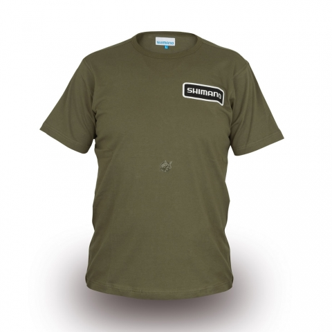 Shimano - T-Shirt Olive - Size L