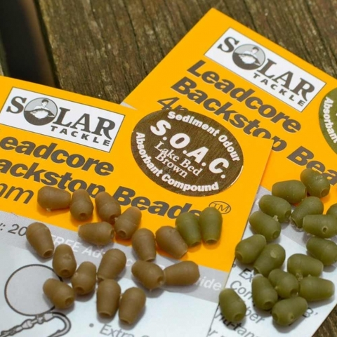 Solar Tackle - Backstop Beads Leadore - Green