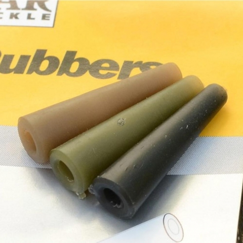 Solar Tackle - Tail Rubbers - Green