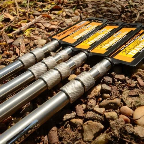 Solar Tackle - Travel-Lite Screwless Bank Sticks 9inch/23cm