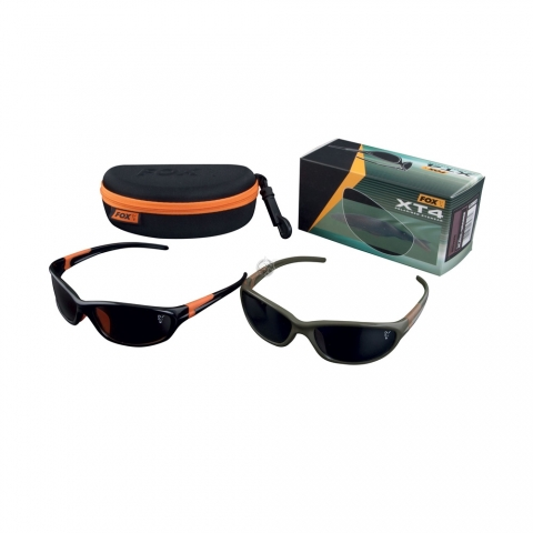Fox - XT4 Sunglasses Black - Grey