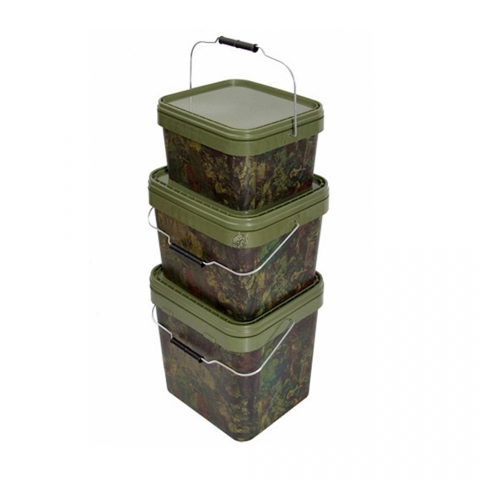 Gardner Tackle - Camo Square Bucket 17l