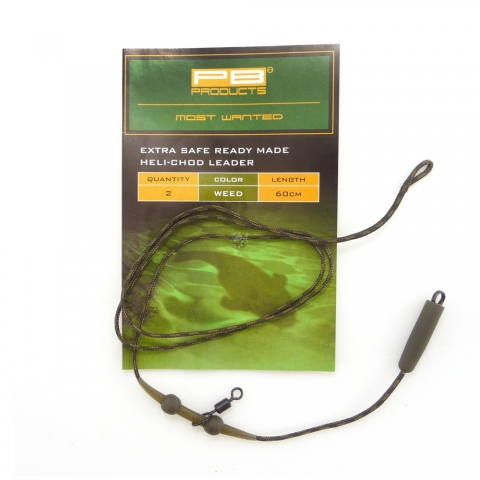 PB Products - Extra Safe Heli-Chod Leader - 90cm - gravel