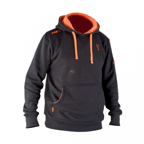 Fox - Black & Orange Hoody # S