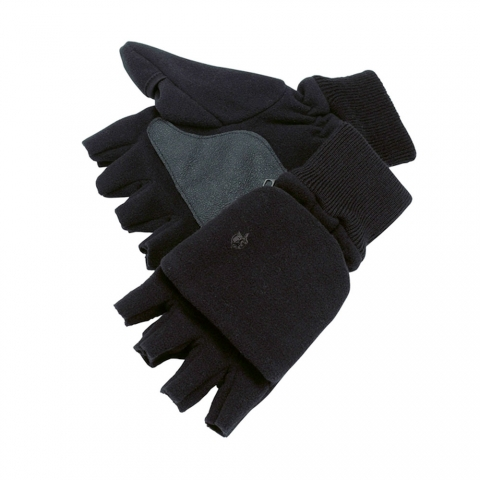 Pinewood - Fleece Handschuh Vante Thinsulate, Black XL/XXL