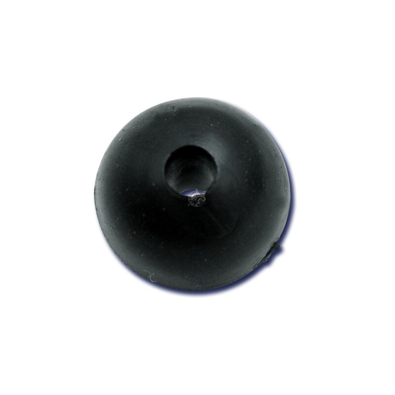 Black Cat - Rubber Shock Beads 10mm