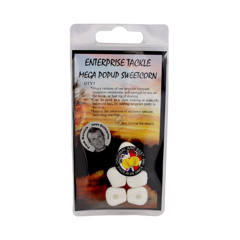 Enterprise Tackle - Mega Pop-Up Sweetcorn - Unflavoured