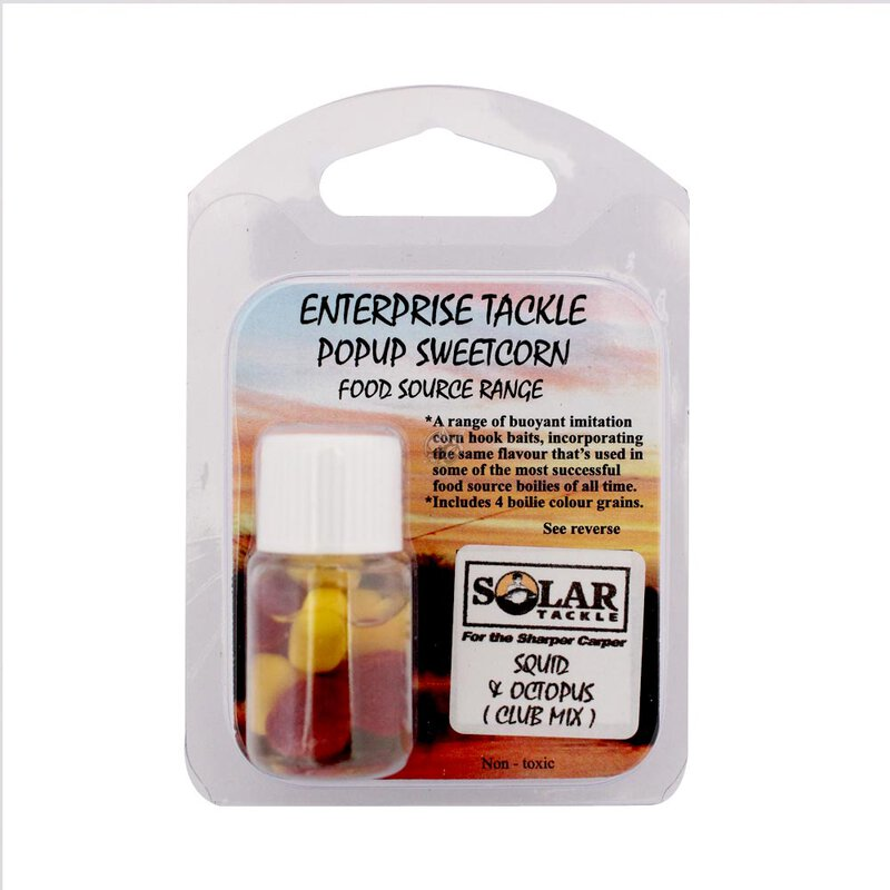 Enterprise Tackle - Food Source Range - Pop Up Sweetcorn