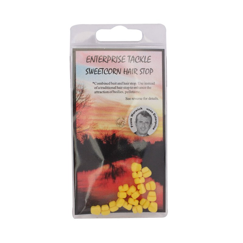 Enterprise Tackle - Sweetcorn Hair Stop - Yellow
