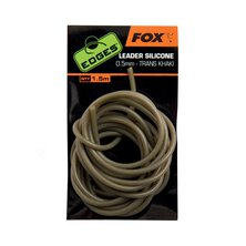 Fox - Edges Leader Silicone 0.5mm - Trans Khaki