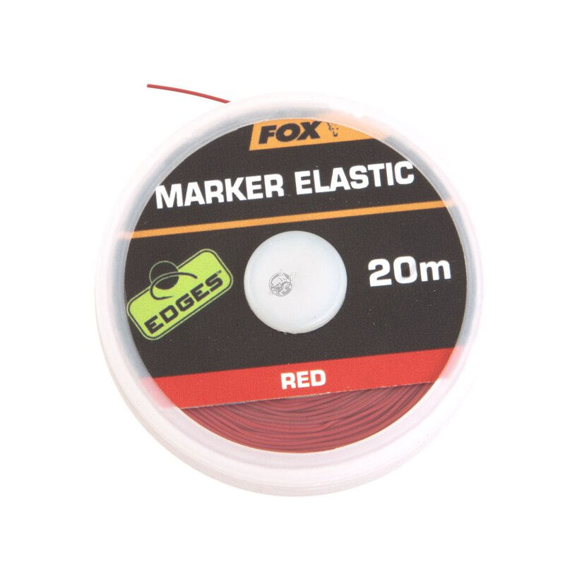 Fox - Edges Marker Elastic - Red - 20m