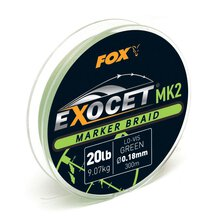 Fox - Exocet MK2 Spod & Marker Braid - 20lb - 300m - Green
