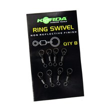 Korda - Flexi Ring Swivels - Size 8